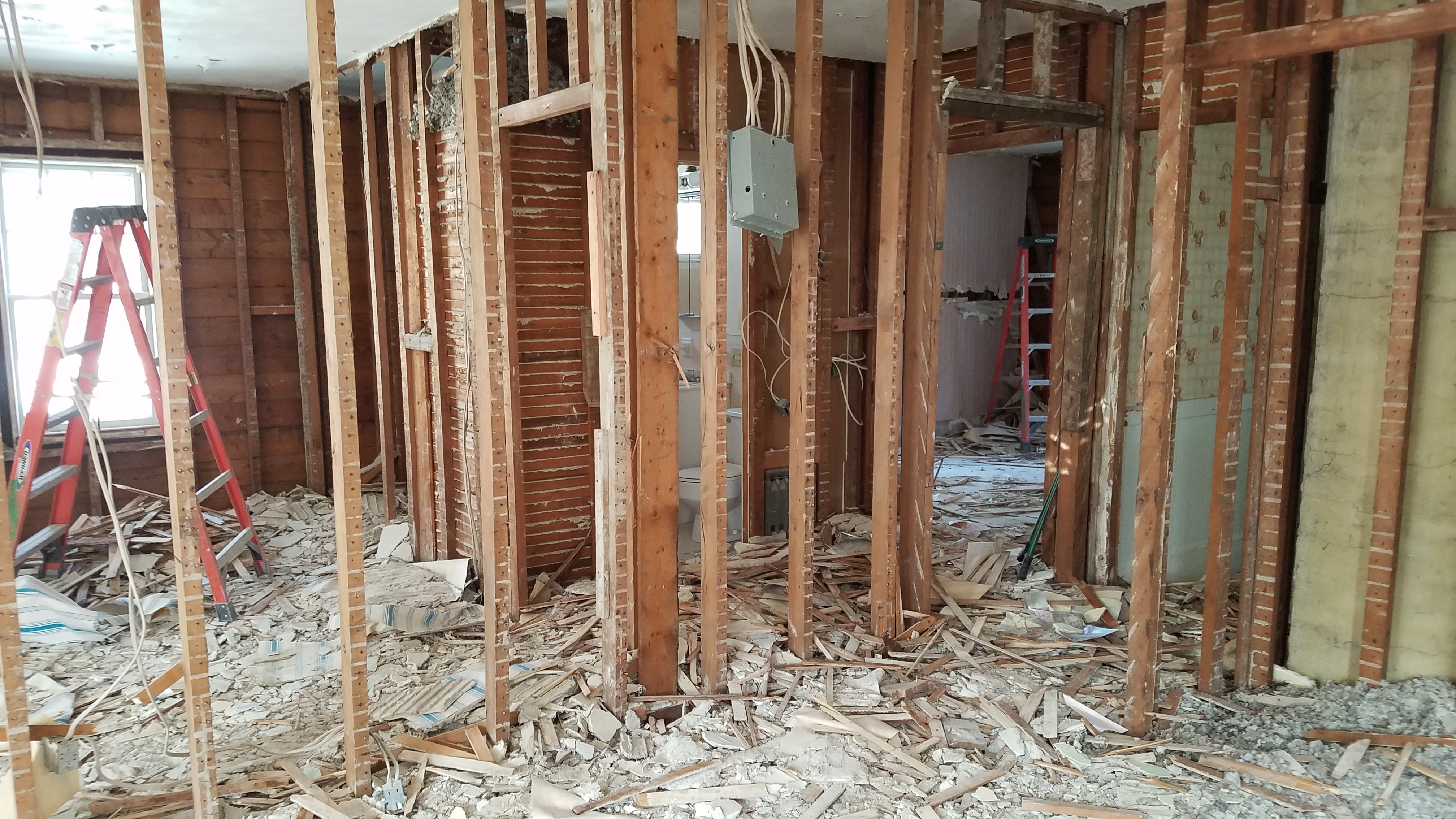 Video Part 2 Interior Amp Exterior Full Gut Renovation